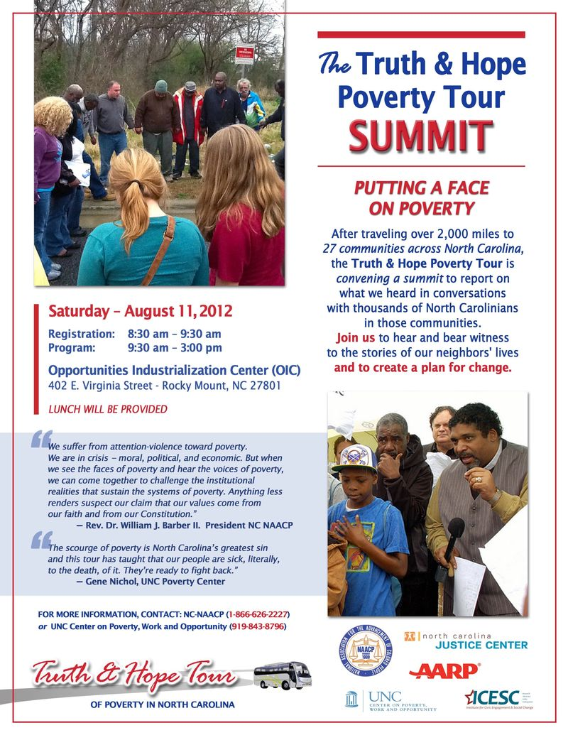 Flyer--August_11_Truth & Hope Poverty Tour Summit