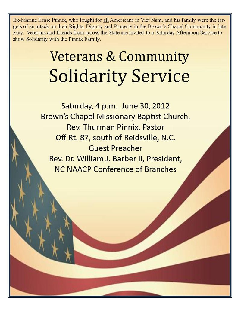Veterans & Community Solidarity Service
