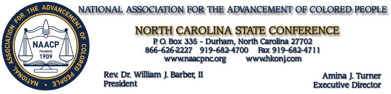 NC NAACP President'​s Statement Read this Morning Announcing Regional Conference and Commenting on NAACP Presentati​on to United Nations_img_0
