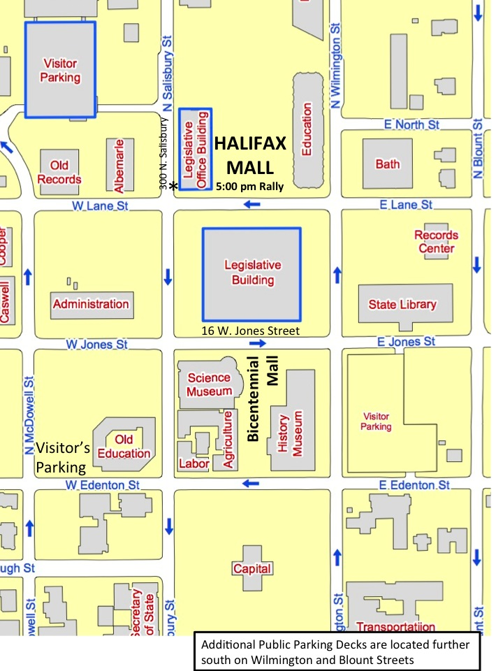 New Map of Downtown and Halifax Mall